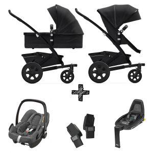 Joolz Geo2 Brilliant Black incl. Autostoel & Base & Adapters