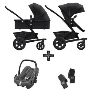 Joolz Geo2 Brilliant Black incl. Autostoel & Adapters