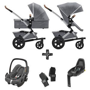 Joolz Geo2 Gorgeous Grey incl. Autostoel & Base & Adapters