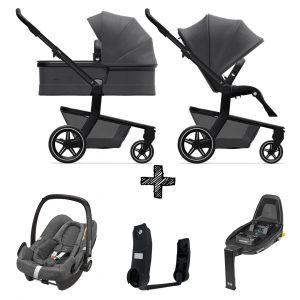 Kinderwagen Joolz Hub+ Awesome Anthracite incl Autostoel & Base & Adapters