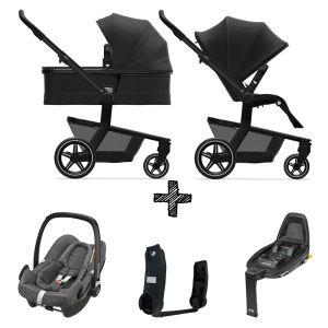 Kinderwagen Joolz Hub+ Brilliant Black incl. Autostoel & Base & Adapters