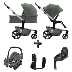 Kinderwagen Joolz Hub+ Marvellous Green incl. Autostoel & Base & Adapters