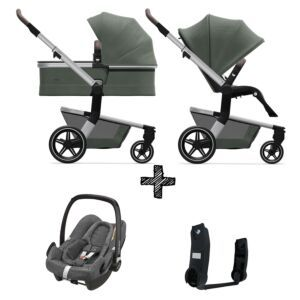 Kinderwagen Joolz Hub+ Marvellous Green incl. Autostoel & Adapters