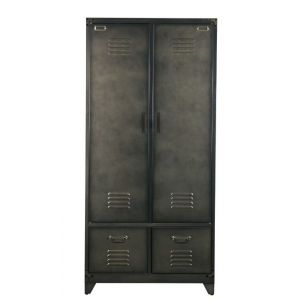 VTWonen 2-deurs Kast Locker Zwart