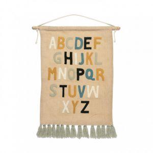 KidsDepot Decoratie Hanger Alfa ABC
