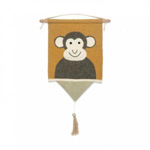 KidsDepot Decoratie Hanger Moos Monkey