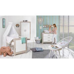 Babykamer Nordica Halifax/White (2-deurs)