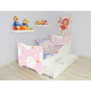 Kleuterbed Top Beds Happy 160x80 Kitty Incl. Matras + Bedlade