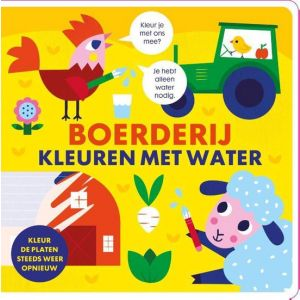 Kleuren met Water Boek Boerderij