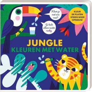 Kleuren met Water Boek Jungle