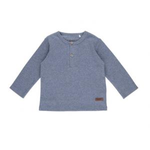 Shirt Little Dutch Melange blue