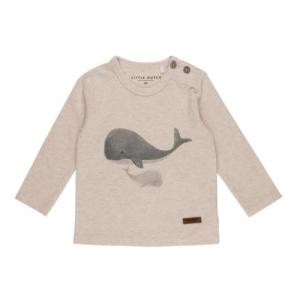 Shirt Little Dutch Whales Blue