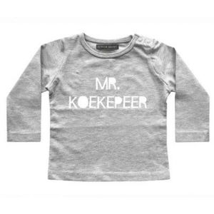 Longsleeve Your Wishes | Mr. Koekepeer Grijs
