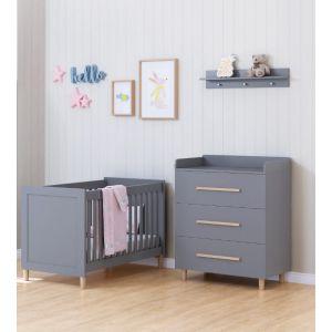 Babykamer Kopenhagen (Ledikant + Commode)