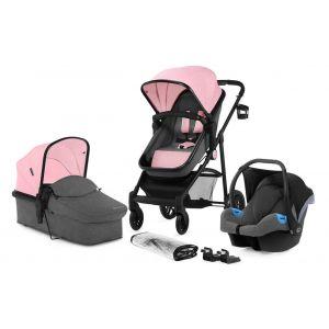 Kinderwagen Kinderkraft Juli 3-in-1 Pink + Autostoel