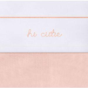 Laken Wieg Jollein Hi Cutie Pale Pink