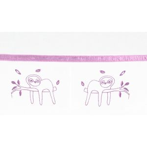 Laken Wieg/Kinderwagen Briljant Baby Jungle Dusk Pink