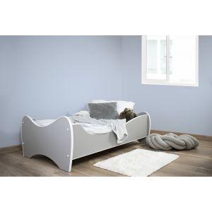 Kleuterbed Top Beds Midi Color 160x80 Pastel Lichtgrijs Incl. Matras Sfeer