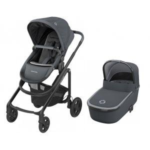 Kinderwagen 2-in-1 Maxi-Cosi Lila CP Essential Graphite + Gratis Voetenzak