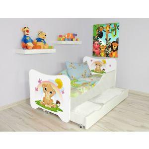 Kleuterbed Top Beds Happy 160x80 Leeuwtje Incl. Matras + Bedlade