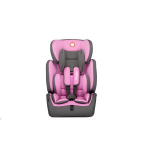 Autostoel Lionelo Levi Simple Candy Pink