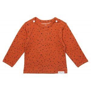 Noppies Shirt Lange Mouw Kris Spicy Ginger
