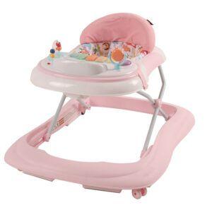 Loopstoel Easy Happy Baby Roze