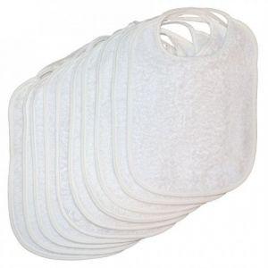 Slabber Lorelli 10st. Waterproof Wit
