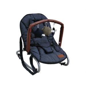 Wipstoel Rocking Chair Luxe Zoo Denim Navy