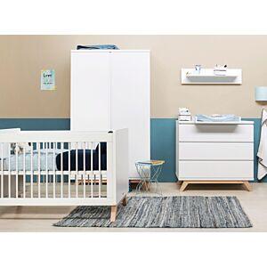 Babykamer Bopita Lynn (2-deurs) incl. Matras en Wandrek