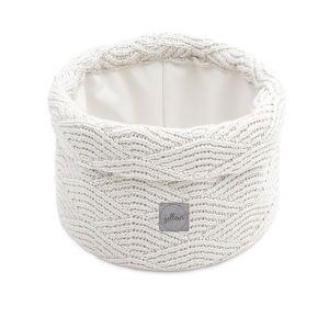 Mand Jollein River Knit Cream White