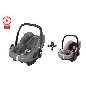 Autostoel Maxi Cosi Rock Essential Grey + Beschermhoes