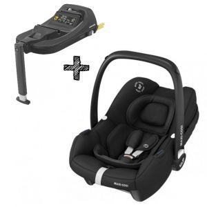 Autostoel Maxi-Cosi Tinca Essential Black I-Size met Tinca Base