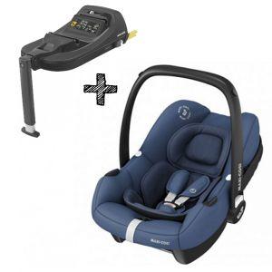 Autostoel Maxi-Cosi Tinca Essential Blue I-Size met Tinca Base