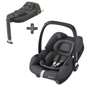 Autostoel Maxi-Cosi Tinca Essential Graphite I-Size met Tinca Base