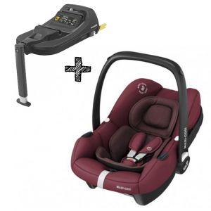 Autostoel Maxi-Cosi Tinca Essential Red I-Size met Tinca Base