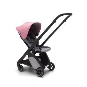 Wandelwagen Bugaboo Ant Grey / Pink Melange - (Zwart Frame)