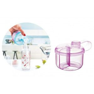 Melkpoederdoos | Milk Powder Dispencer 496 Pink Babyjem