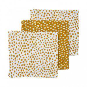 Monddoekjes Hydrofiel Meyco Cheetah 457037 Honey Gold 3-pack