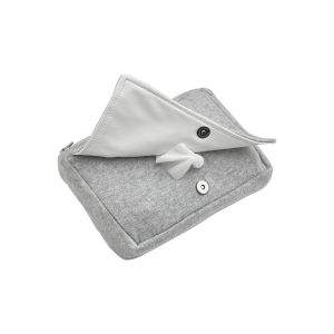 Hoes Babydoekjes Meyco Knit Basic 2863004 Grijs Melange