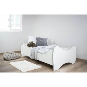 Peuterbed Top Beds Midi 70x140 Light Grey Inclusief Matras