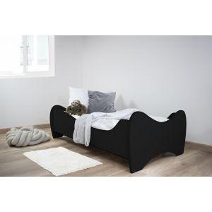 Kleuterbed Top Beds Midi 160x80 Black Incl. Matras