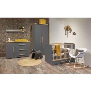 Babykamer Milan 2-deurskast