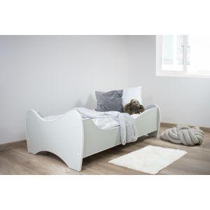 Kleuterbed Top Beds Midi Color 160x80 Pastel Mint Incl. Matras Sfeer