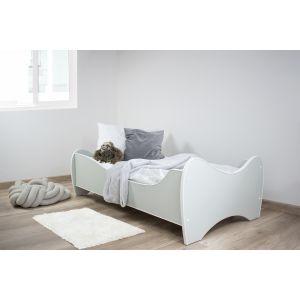 Peuterbed Top Beds Midi Color 70x140 Pastel Mint Incl. Matras