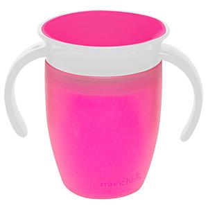 Antilekbeker Munchkin Miracle Trainer Cup Pink 207ml