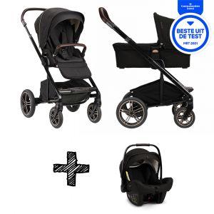 SET | Kinderwagen Nuna Mixx Next Riveted + Autostoel Nuna Pipa Next Compatible Riveted