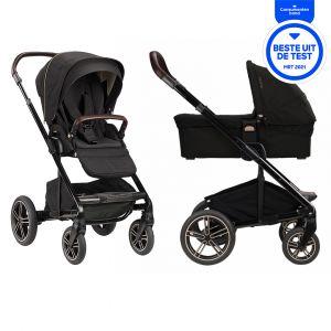 Kinderwagen Nuna Mixx Next Riveted + Gratis Wipstoel
