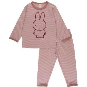 Nijntje Pyjama Stripe Pink