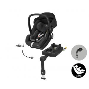 Autostoel Maxi-Cosi Marble met Isofixbase I-Size Essential Black
